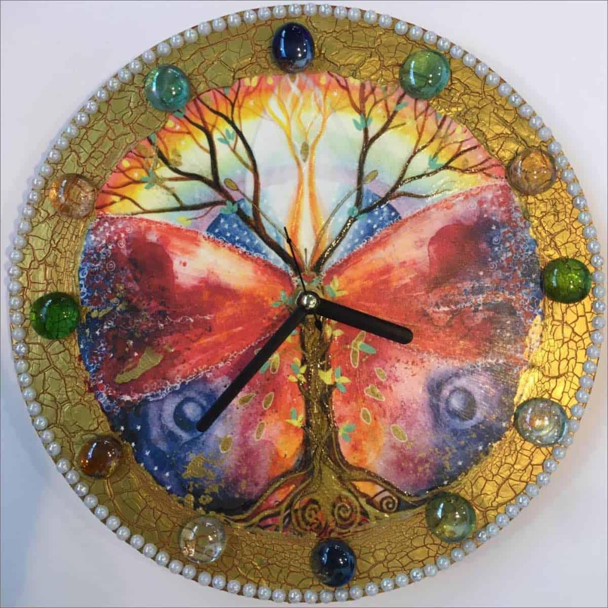 мк Часы на стекле «Стеклянное время» превью