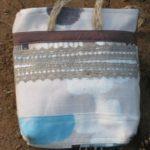 Превью мк Простая сумочка на молнии с лоскутным набором