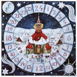 В ожидании чуда. История календарей Адвента